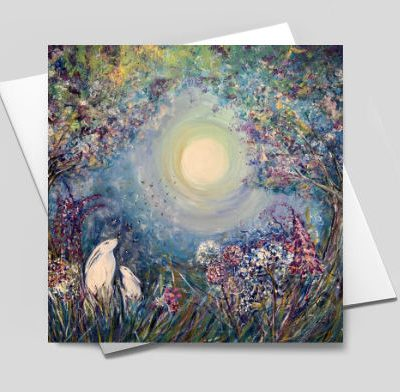 Forest Magic Greetings Card